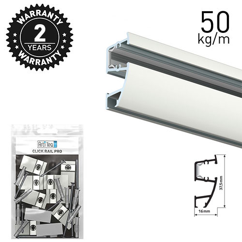 Artiteq Combi Rail Pro Light 300cm