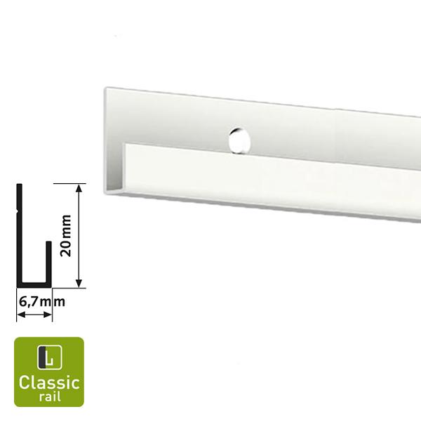 Artiteq Classic Rail white primer 2.0m