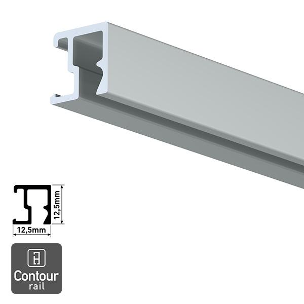 Artiteq Contour Rail aluminium 2.0m
