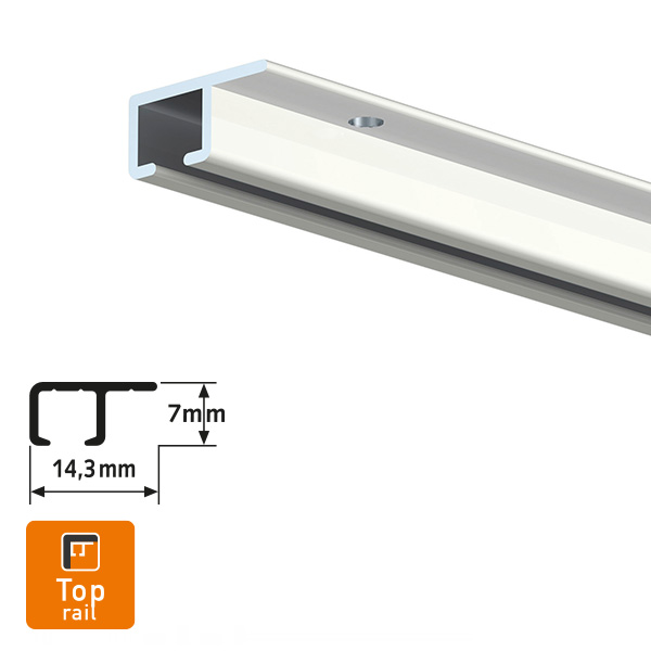 Artiteq Top Rail White Picture Hanging System