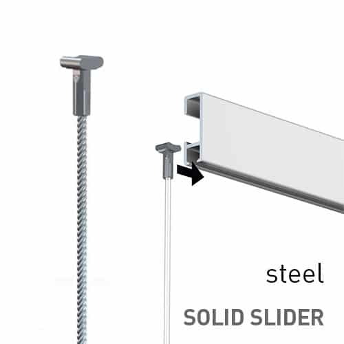 Artiteq Steel Solid Slider 2mm
