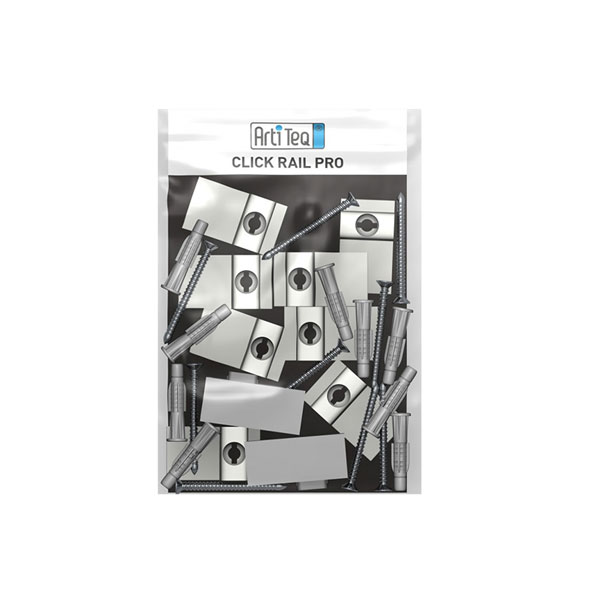 Artiteq Click Rail Pro Installation Kit