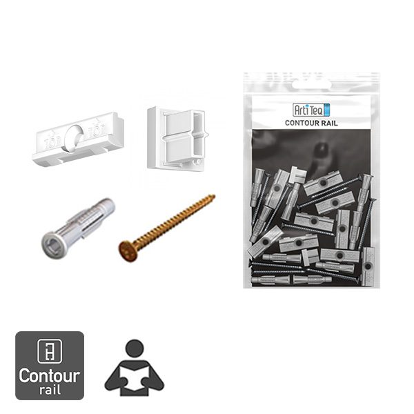 Artiteq Contour Rail Installation Kit