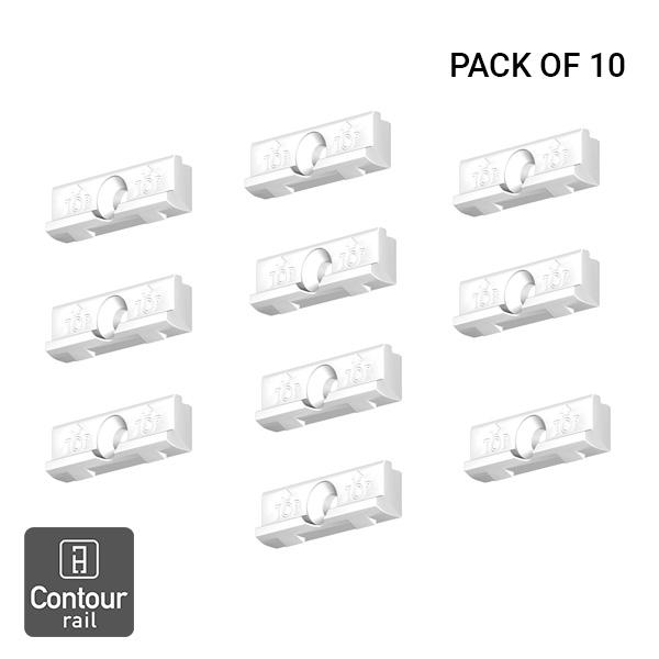 Artiteq Contour Rail Installation Clips 10pcs