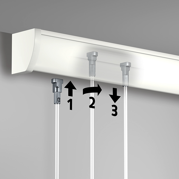 Artiteq Up Rail Picture Hanging System