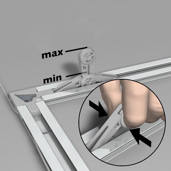 ARTITEQ Back Frame Flex Bumpers
