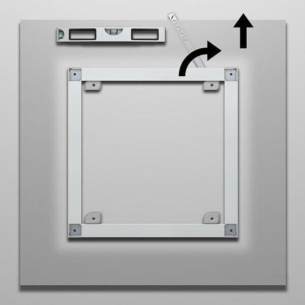 ARTITEQ Back Frame Security Key